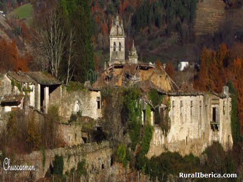 Monasterio de San Sampaio de Abeleda - Castro Caldelas, Orense, Galicia