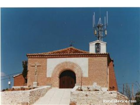Ermita de San José, con su correspondiente  antena - Rueda, Valladolid, Castilla y León