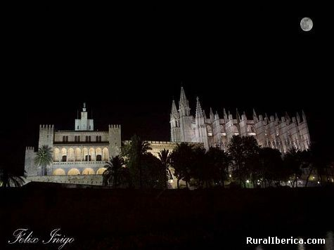 Catedral. Palma de Mallorca, Baleares - Palma de Mallorca, Baleares, Islas Baleares