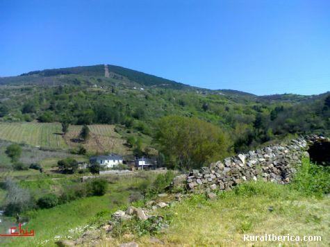 El pueblo donde estaba la escuela en 1960. Santa Mar�a de Mones - Santa Mar�a de Mones, Orense, Galicia