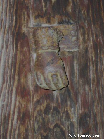 Llamador con joya. Bijuesca, Zaragoza - Bijuesca, Zaragoza, Aragón