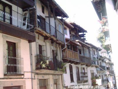Calle típica de Candelario, Salamanca - Candelario, Salamanca, Castilla y León