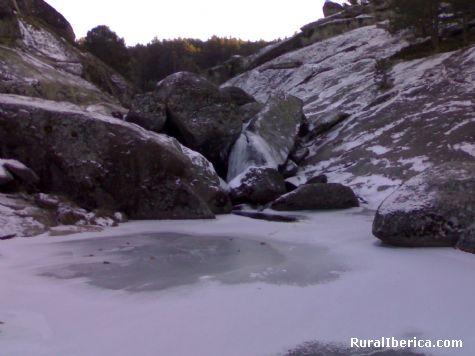 Las Chorreras heladas, Enero 2009 - Hoyos del Espino, Ávila, Castilla y León