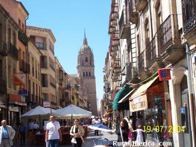 Rua Mayor, Calle de Salamanca - Salamanca, Salamanca, Castilla y León