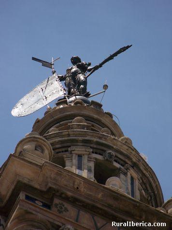 Detalle de la Giralda. Sevilla, Andalucía - Sevilla, Sevilla, Andalucía