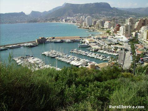 Vista desde el Peñón de Ifach - Calpe, Alicante, Comunidad Valenciana