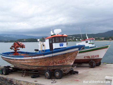 Barcas. Rianxo, La Coruña - Rianxo, La Coruña, Galicia