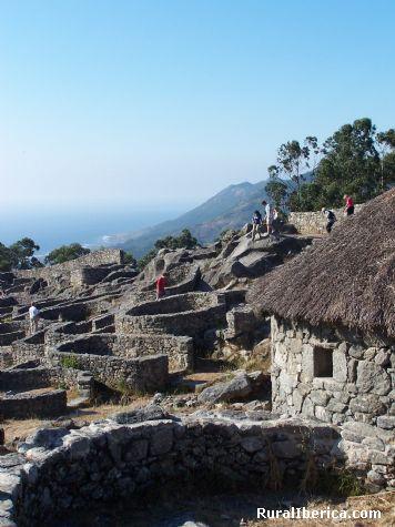 Fotos castro de santa tecla la guardia pontevedra for Oficina de turismo laguardia