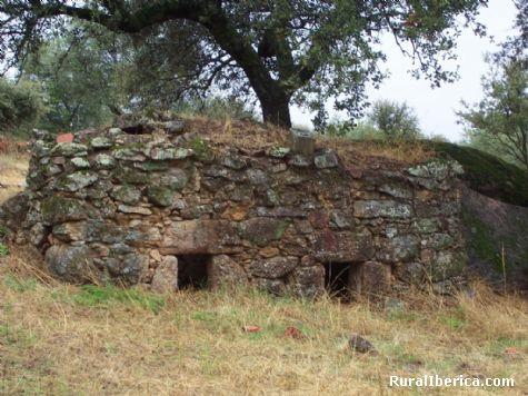 Está en UTM X736644.46 Y4449794.93 - Santibañez el Bajo, Cáceres, Extremadura
