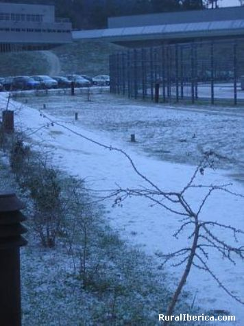 Neve no cuvi - vigo, Pontevedra, Galicia