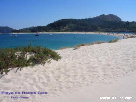 Amellor playa do mundo esta nas cies - Vigo, Pontevedra, Galicia