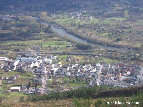 Panoramica de Quiroga. Quiroga, Lugo - Quiroga, Lugo, Galicia