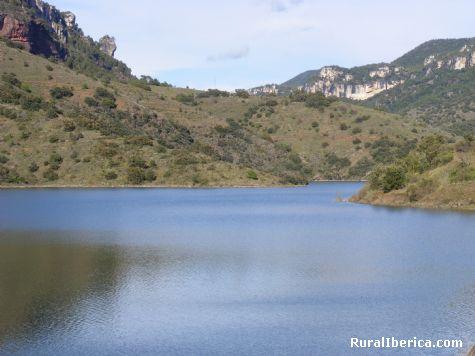 Embalse de Ciurana, Cornudella de Montasnt, Tarragona - Cornudella de Montsant, Tarragona, Cataluña