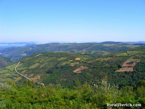 Vistas desde O Cebreiro, Lugo - Piedrafita do Cebreiro, Lugo, Galicia