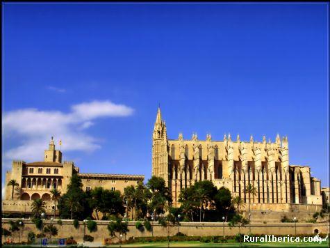 Catedral de Palma - Palma, Baleares, Islas Baleares