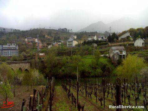A Rúa desde Petín - Petín, Orense, Galicia