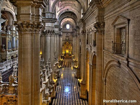 Interior Catedral de Ja�n - Ja�n, Ja�n, Andaluc�a