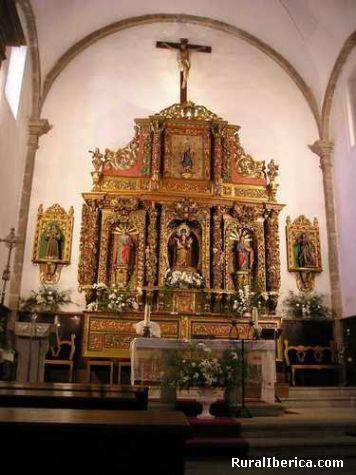 Retablo igrexa larouco - larouco, Orense, Galicia