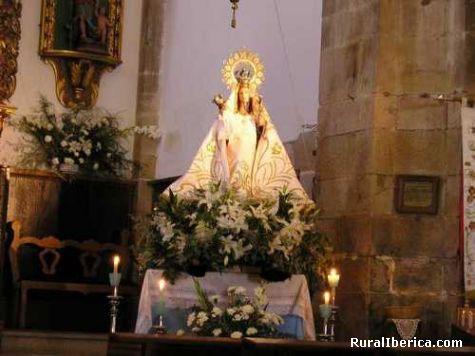 Imaxe na igrexa larouco - larouco, Orense, Galicia