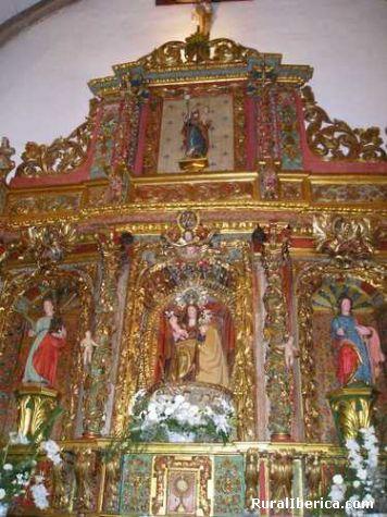 Retablo na igrexa larouco - larouco, , Galicia