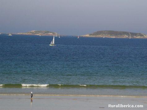 Illas estelas na ria de vigo - vigo, Pontevedra, Galicia