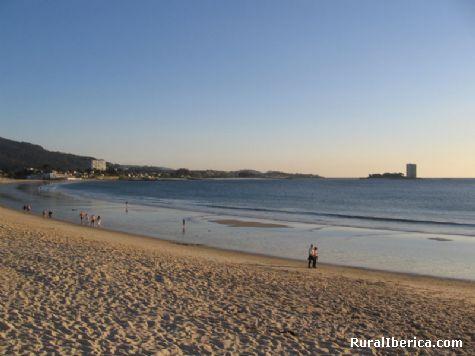 Praia de samil - vigo, Pontevedra, Galicia