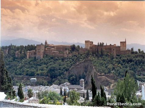 La Alhambra - Granada, Granada, Andalucía