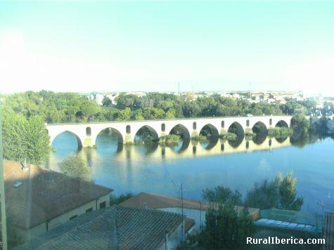 puente sobre el rio duero - zamora, Zamora, Castilla y León