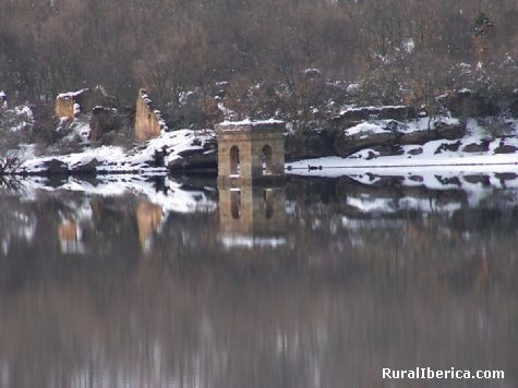 La Muedra en enero. Soria - Soria, Soria, Castilla y León