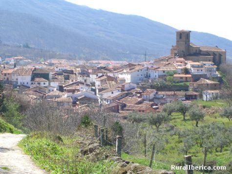 Vista panoramica parcial de Hervás, Cáceres - Hervás, Cáceres, Extremadura