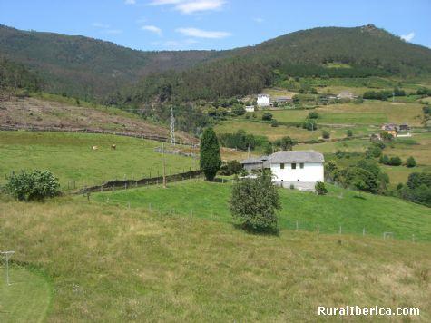 Vista desde Chao de Pendia Hotel rural - Boal. Chao Pendia, Asturias, Asturias
