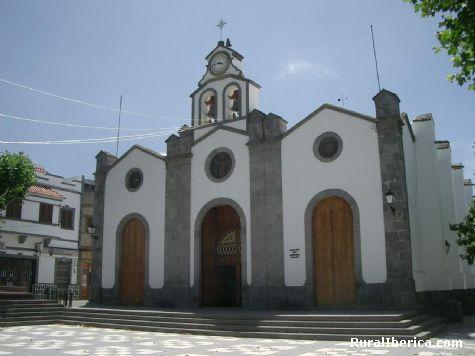Iglesia de Valleseco. - Valleseco., Las Palmas, Islas Canarias