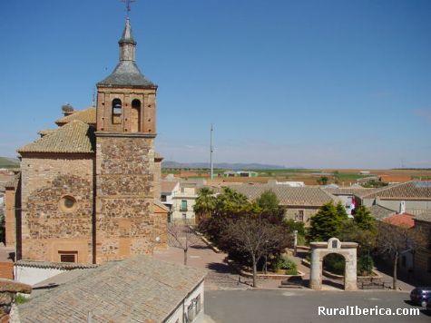 Iglesia de Granatula de Calatrava. Ciudad Real - Granatula de Calatrava, Ciudad Real, Castilla la Mancha