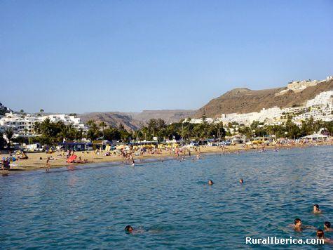 Playa de Puerto Rico. Las Palmas - Puerto Rico, Las Palmas, Islas Canarias