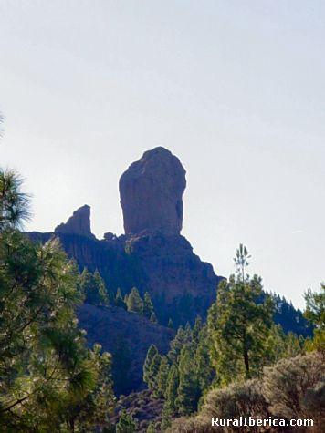 Roque Nublo. Las Palmas - Las Palmas, Las Palmas, Islas Canarias