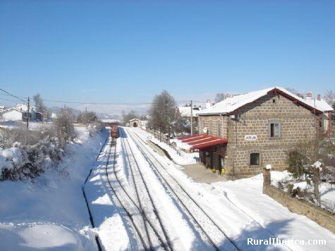 Estacion del F.E.V.E. Arija, Burgos - Arija, Burgos, Castilla y Le�n