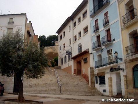 escalinata - Alca�iz, Teruel, Arag�n