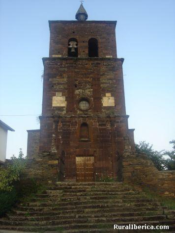 Iglesia romana de Montefurado. Montefurado, Lugo - Montefurado, Lugo, Galicia