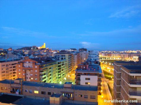 suave atardecer - Lleida, Lérida, Cataluña