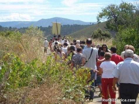 Xuntanza relixosa en enciñeiras - quiroga, Lugo, Galicia