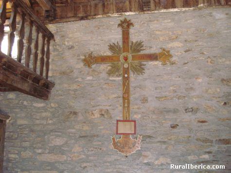 Cruz da santa mison Igrexa das enci�eiras - quiroga, Lugo, Galicia