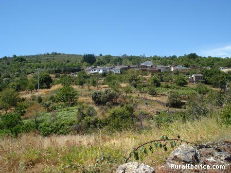 Vista do pobo das Enciñeiras - quiroga, Lugo, Galicia