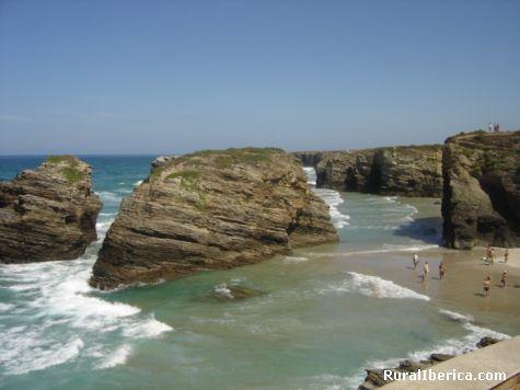 Playa de las Catedrales. Ribadeo, Lugo - Ribadeo, Lugo, Galicia
