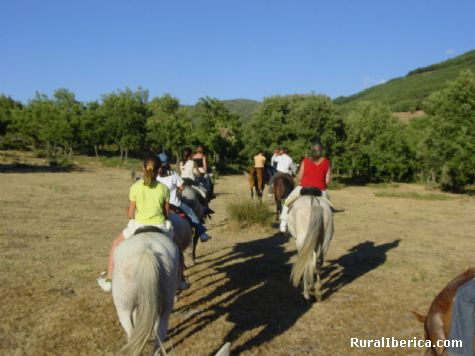 Rutas a caballo. Villafranca de la Sierra, �vila - Villafranca de la Sierra, �vila, Castilla y Le�n