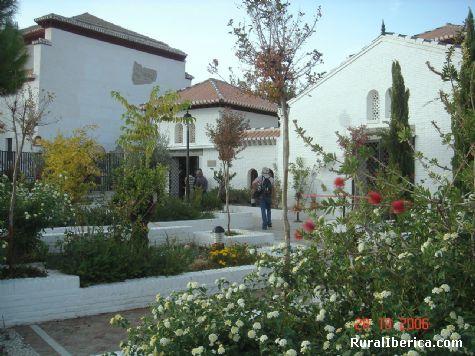 Jardines de la Mezquita Mayor de Granada (El Albaicin) - Granada, Granada, Andalucía