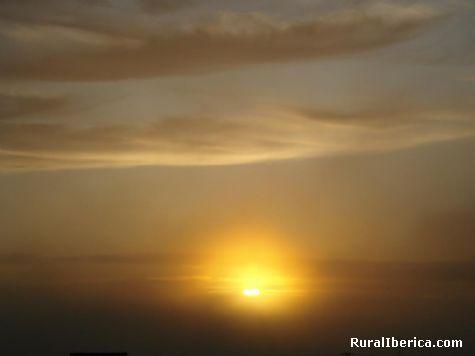 Posta do sol - Nigran, Pontevedra, Galicia