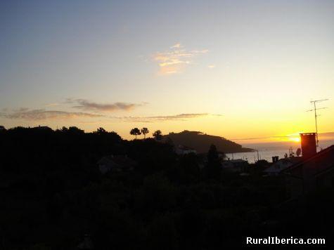 Posta do sol - Vigo, Pontevedra, Galicia