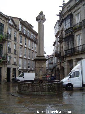Plaza de Cervantes. Santiago de Compostela - Santiago de Compostela, La Coruña, Galicia