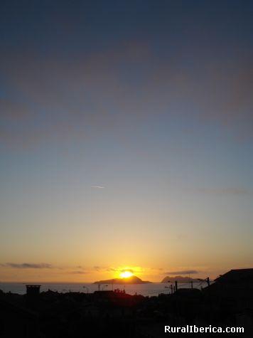 Cando se esconde o sol nas cies - Vigo, Pontevedra, Galicia