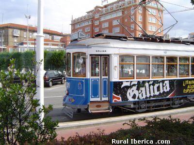 Tranvía de La Coruña - La Coruña, La Coruña, Galicia